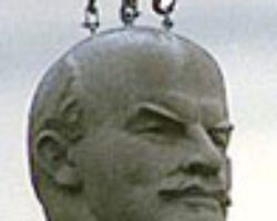 In bad met Lenin