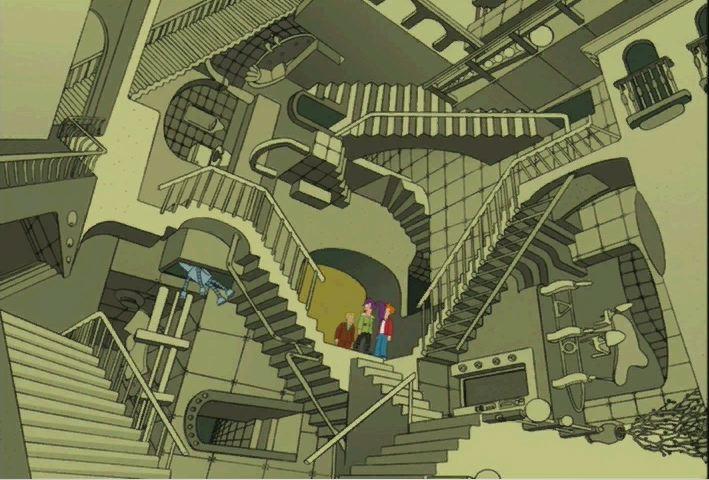 Futurama Escher