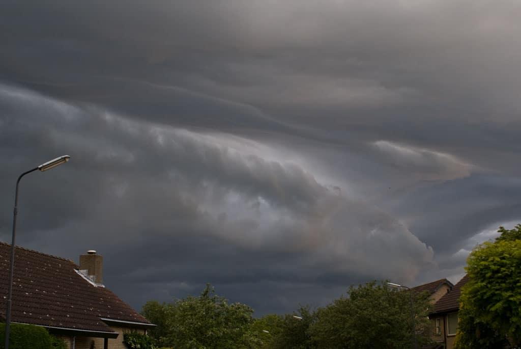 Zou het misschien gaan regenen?